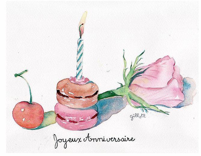 Exceptionnel paris breakfasts: Joyeux Anniversaire! QY92