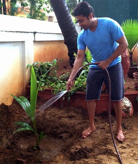 South actor Suriya goes green with My Tree Challenge