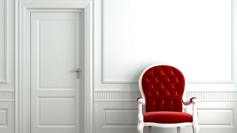 Interior Red chair
