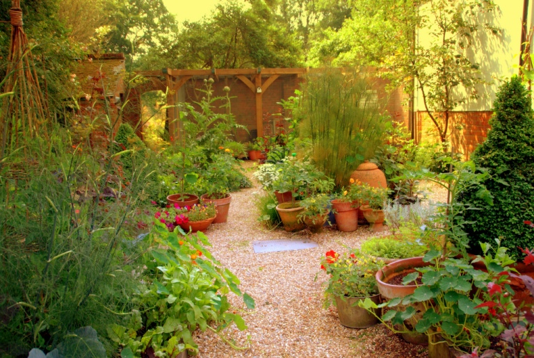 Landscaping With Edibles : Ewa in the garden beautiful photos of edible landscape ideas hand picked