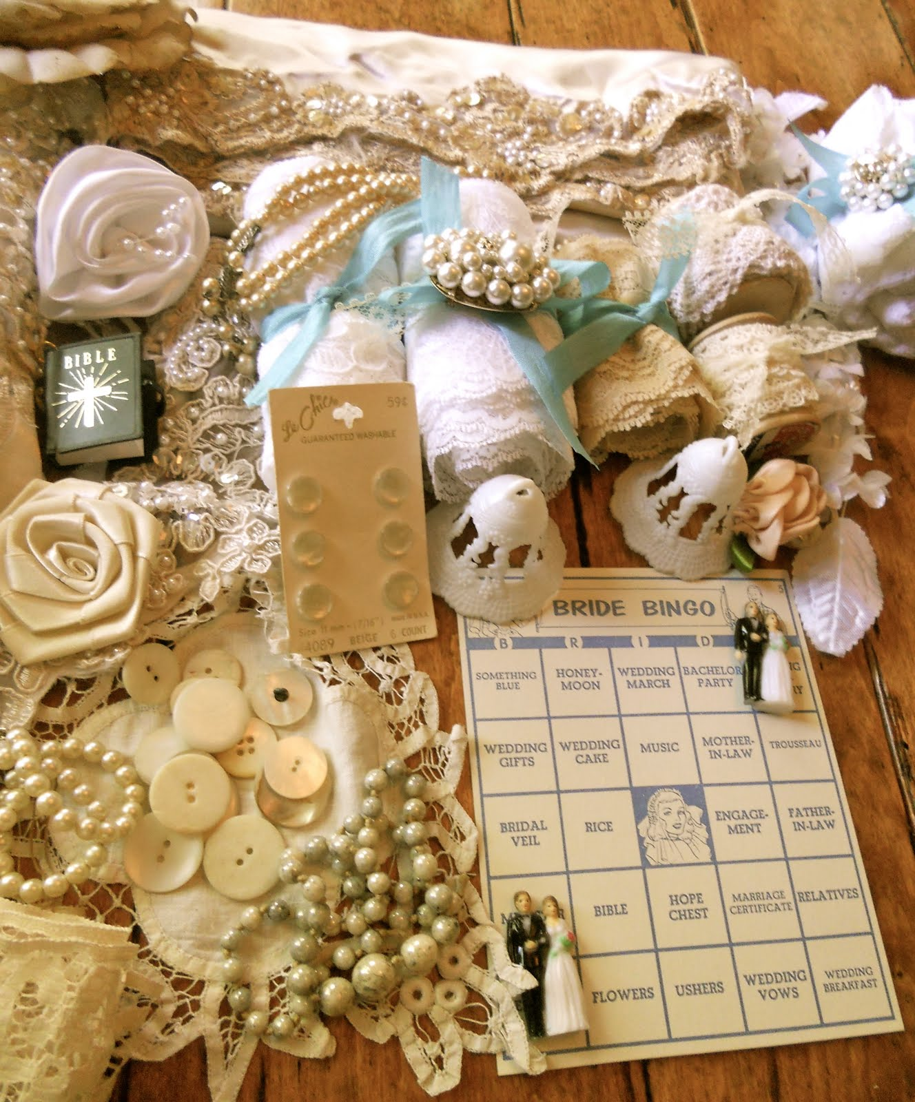 Lillys Lace TWO Wedding Kit Lace Giveaways