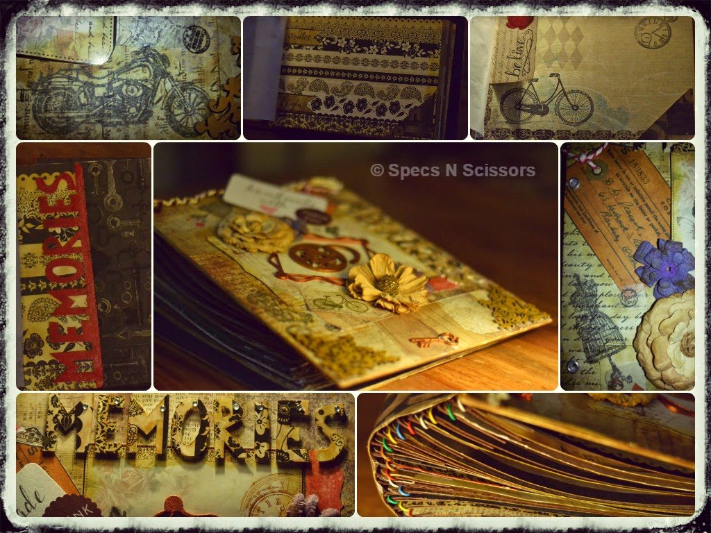 Specs N Scissors - Customized Gifts - Vintage Album Pages