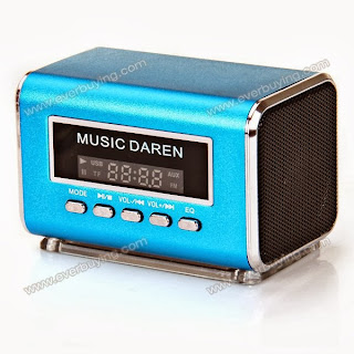 Enter to win a Music Daren Speaker. Giveaway ends 10/28.