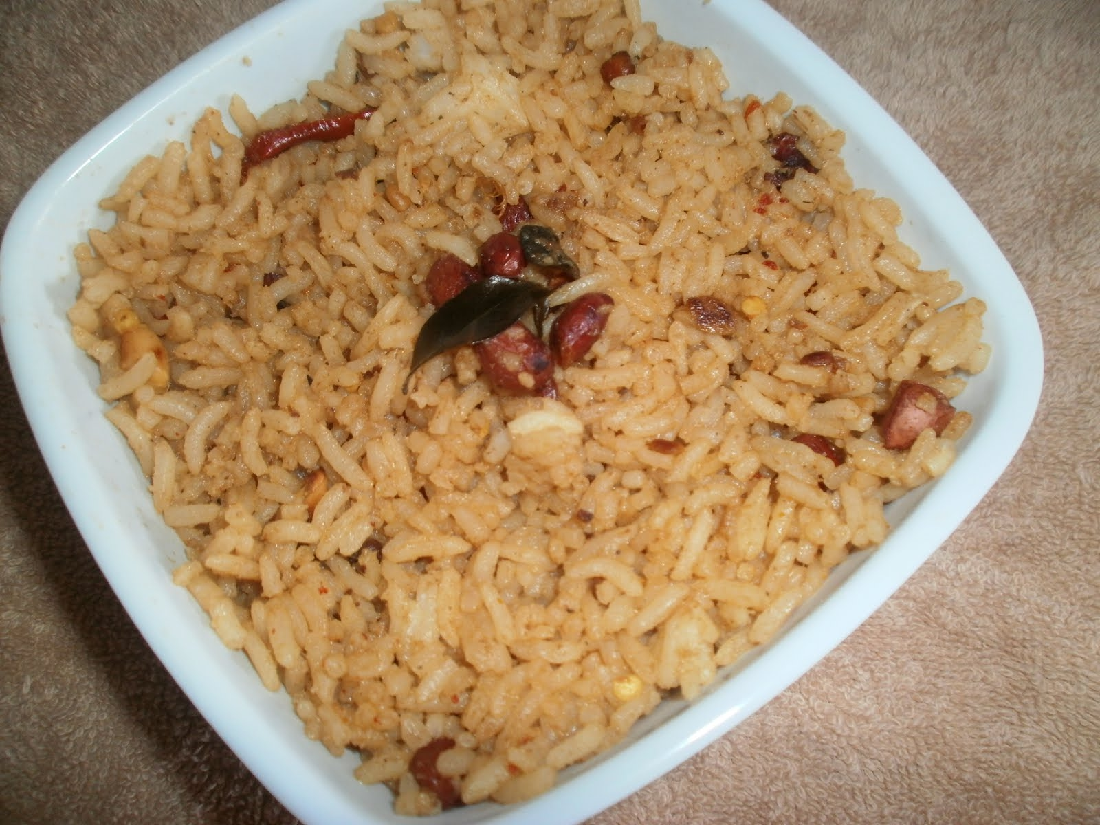 Mahaslovelyhome: PULIHORA/TAMARIND RICE/ LEFT OVER RICE RECIPES