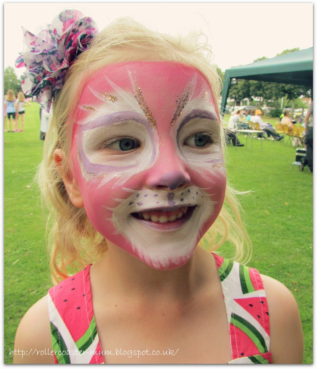 cat face-paint