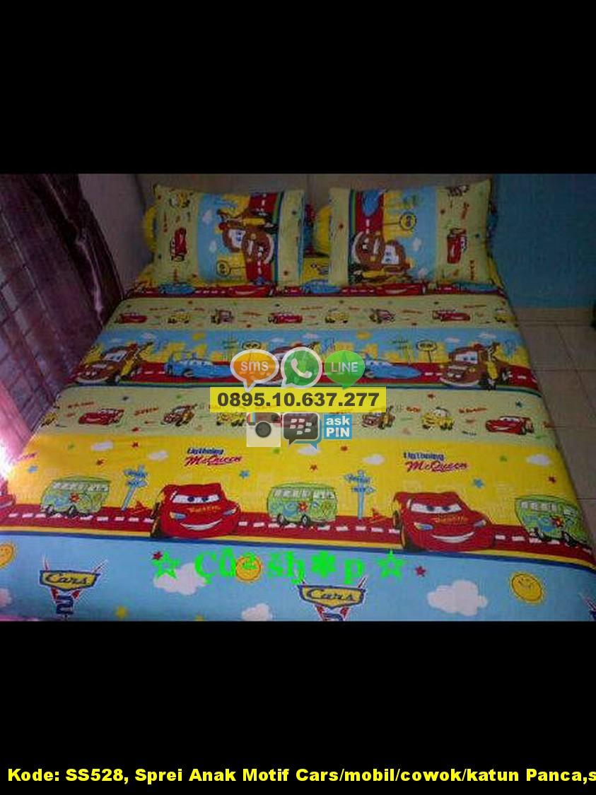 Bed cover my love anak - Harga Sprei Anak Motif Cars Mobil Cowok Katun Panca Star Jual