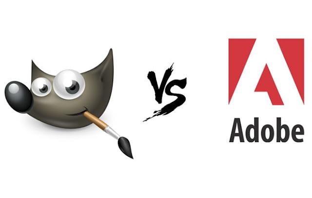 GIMP vs Adobe