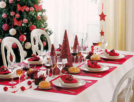 El caj n de sof a c mo decorar la mesa en navidad - Como adornar mesa de navidad ...