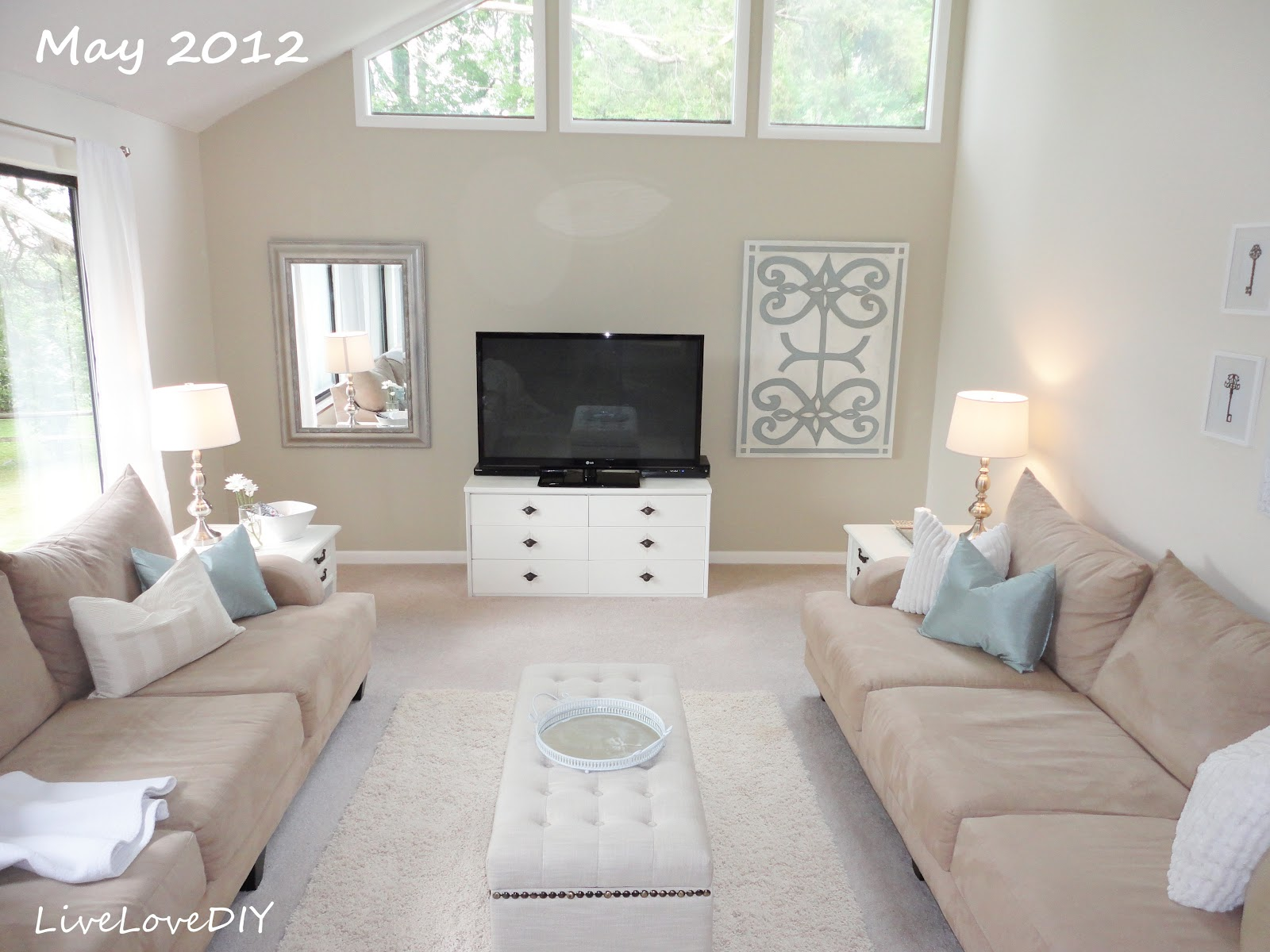 livelovediy how to decorate a living room 2 years of design flops