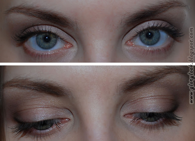 Urban Decay Naked Basics glorylook.blogspot.com макияж
