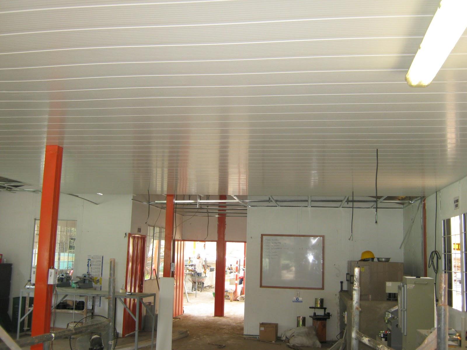 Constru f cil drywall cielo raso p v c for Cielos rasos modernos