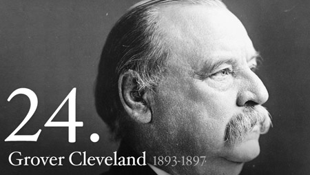 GROVER CLEVELAND 1893-1897