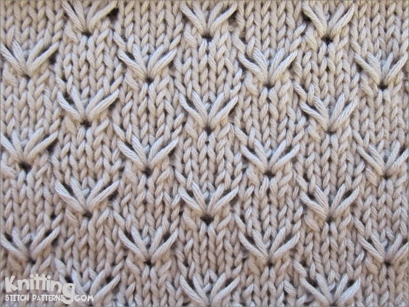 Knitting Extra Stitch Each Row : Knitting Stitch Patterns