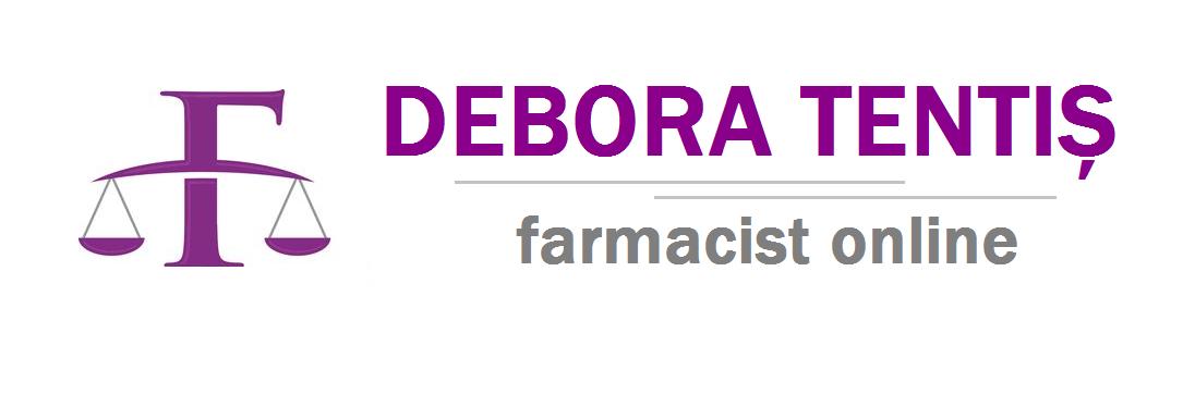 Debora Tentiș - farmacistonline.ro