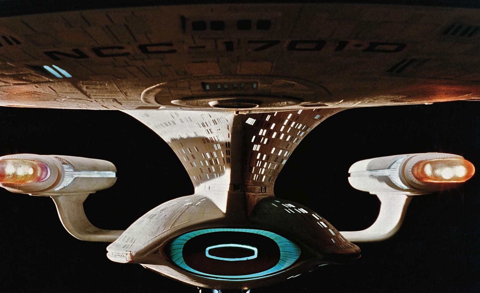 A Stunning Look At The Original Enterprised Model From The First Season