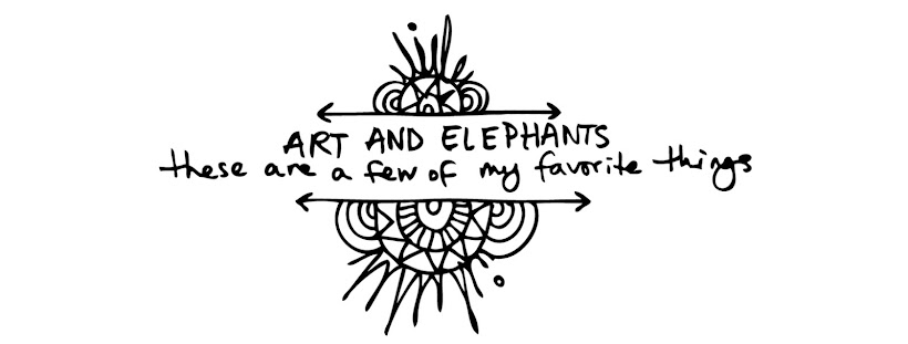 ART AND ELEPHANTS