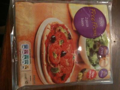 tesco gluten free pizza bases