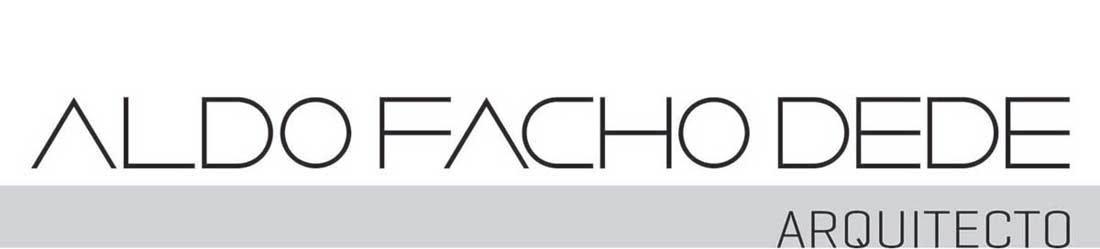 Aldo Facho Dede, arquitecto
