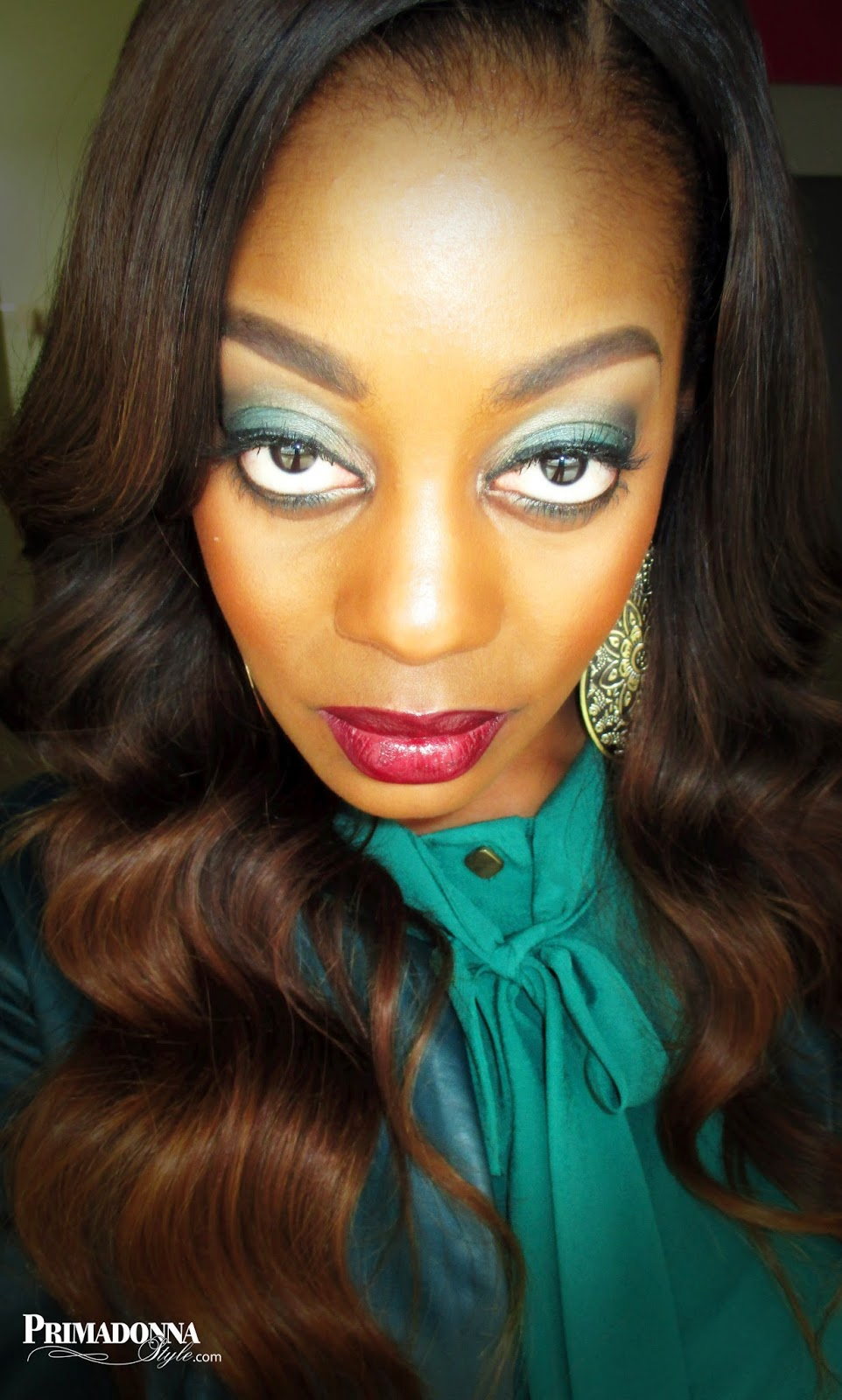Primadonna Style Makeup Look Of The Day Nyc Mahogany