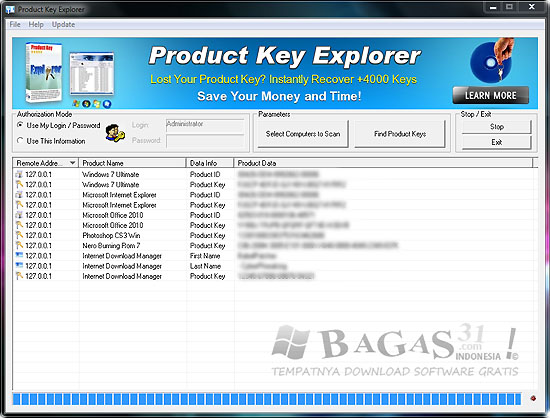 Product Key Explorer v3.2.7.0 Full Crack