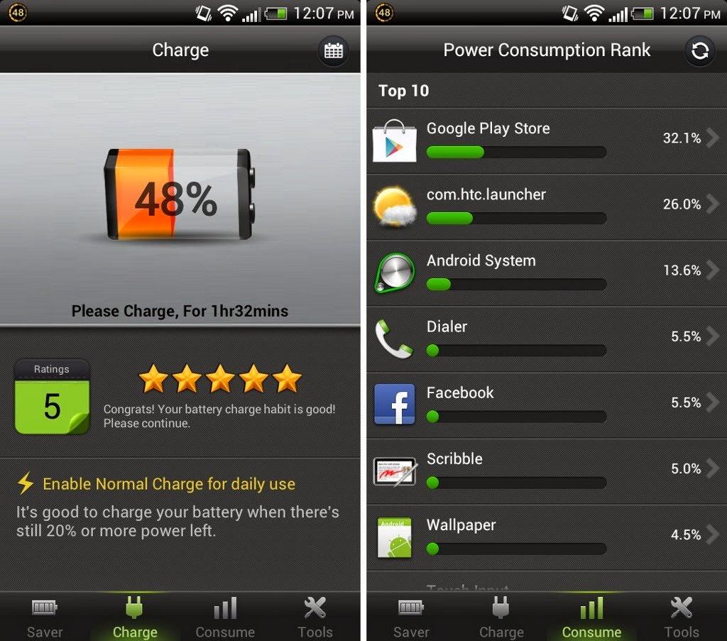 Battery Doctor gratis para smartphone y tablet