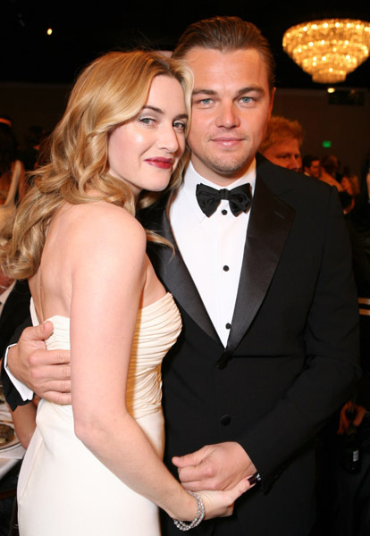 leonardo dicaprio and katewinslet