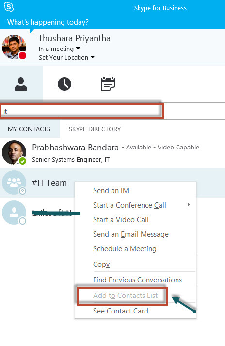 how to add a user to a skype call
