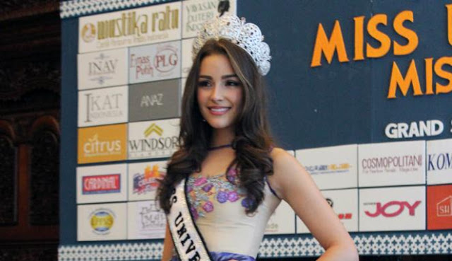 Miss Universe 2012, Olivia Culpo (VIVAnews/Shalli Syartiqa )
