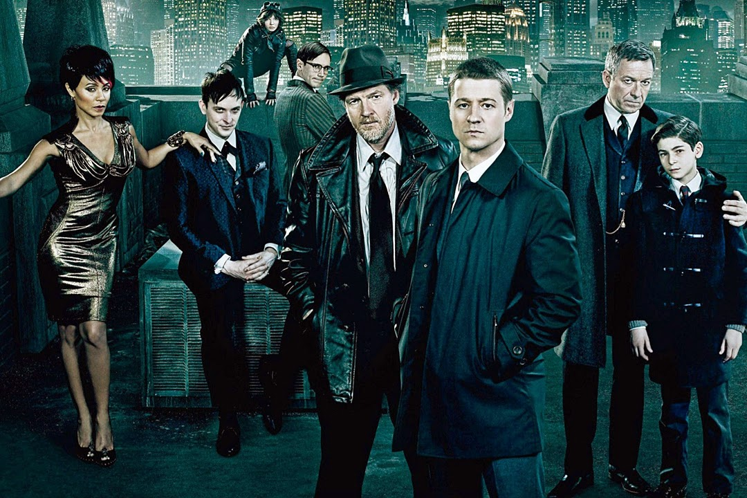 gotham season 1 bruce wayne jim gordon penguin fish mooney catwoman