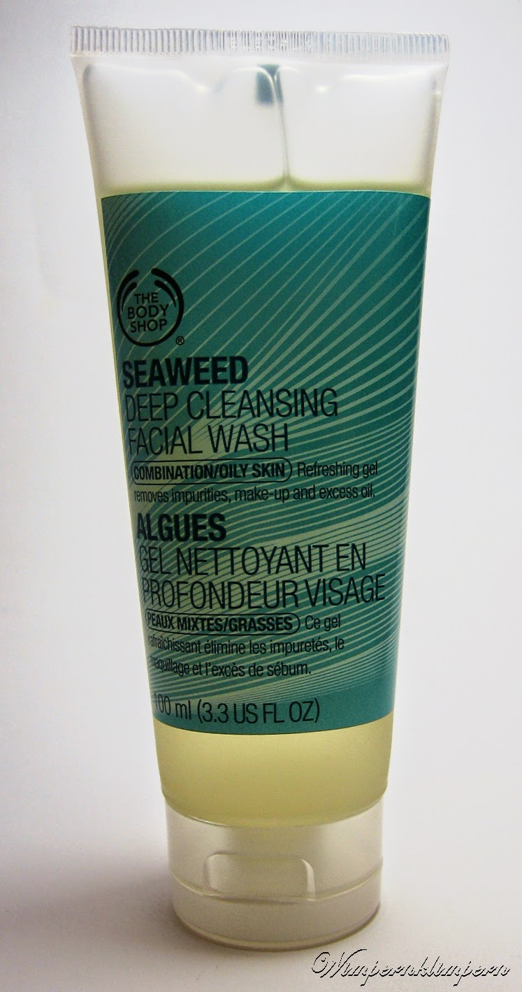 The Body Shop Seaweed Deep Cleansing Facial Wash Verpackung