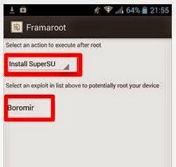 Cara Baru Root Lenovo A3691 Tanpa PC Dengan FramaRoot