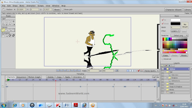 How to Create my own animation cartoon file on Windows