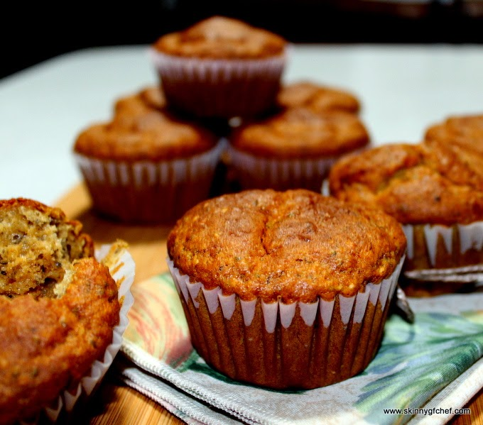 Make these healthy gluten-free and sugar free muffins that are low fat and delicious