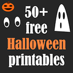 FREEBIE ALERT: MeinLilaPark – digital freebies: ☞ 50+ free Halloween printables  - Halloween Druck...