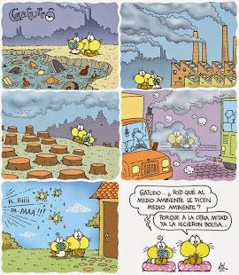 Gaturro y el Medio Ambiente