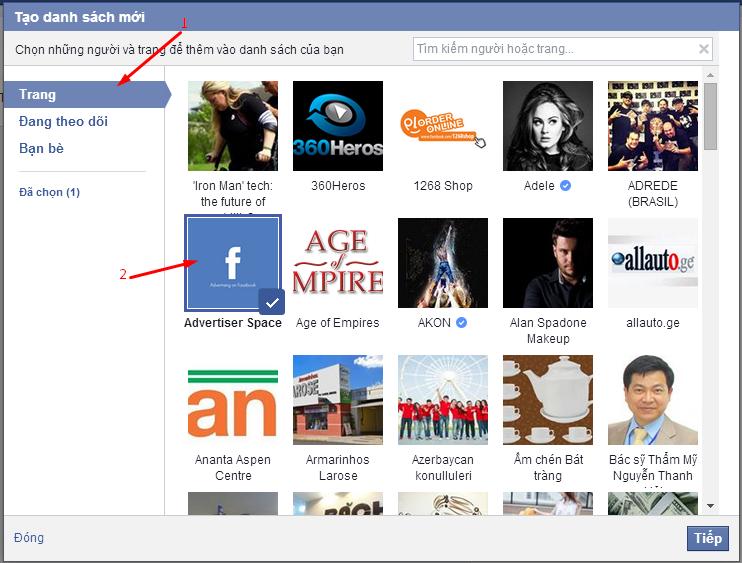 Hướng dẫn cách tạo danh sách theo dõi (list Facebook) một cách đơn giản nhất