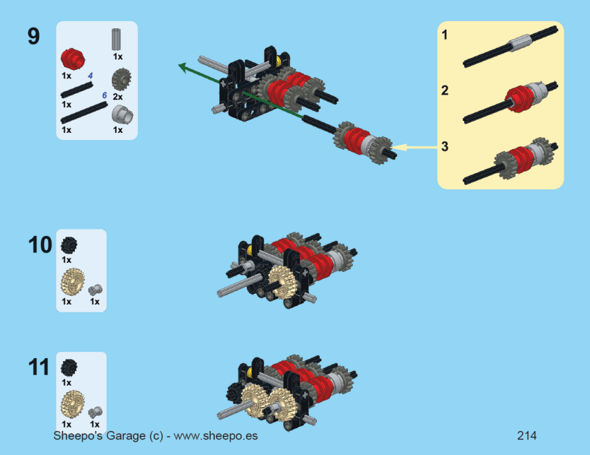 Technicbricks sheepo 39 s mustang gt500 building instructions available