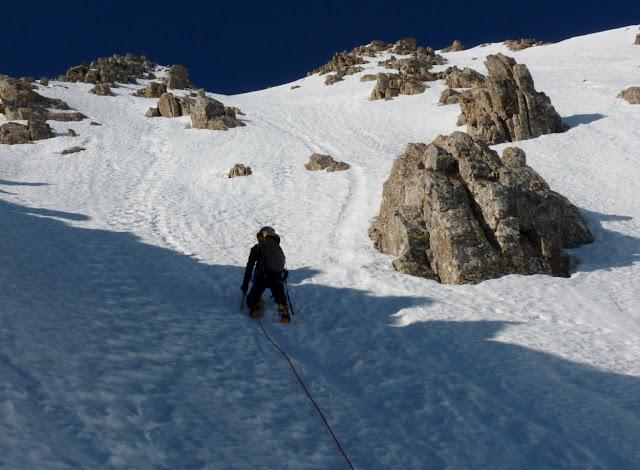 Pirineos:Refugio de Lizara-Bisaurin Corredor NE
