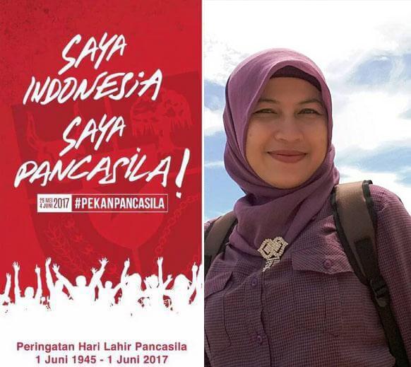 Istri Kakanda Redi: SAYA INDONESIA SAYA PANCASILA