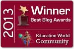 Education World Best Blog Award