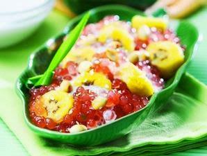 Resep Masakan Banana Sago Cream