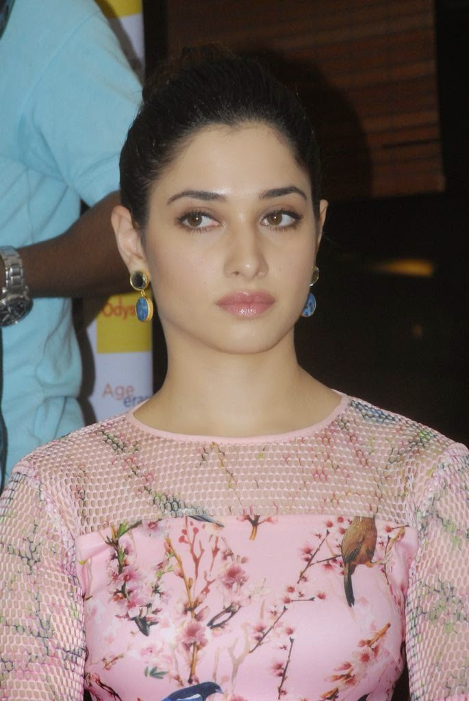 Tamanna Bhatia in Pale Pink Gown Without Makeup Spicy Stills