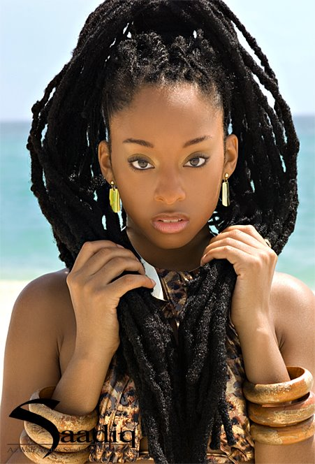 beautiful black women with dreadlocks