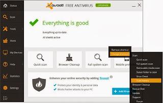 Avast! Antivirus for Windows 8 Full
