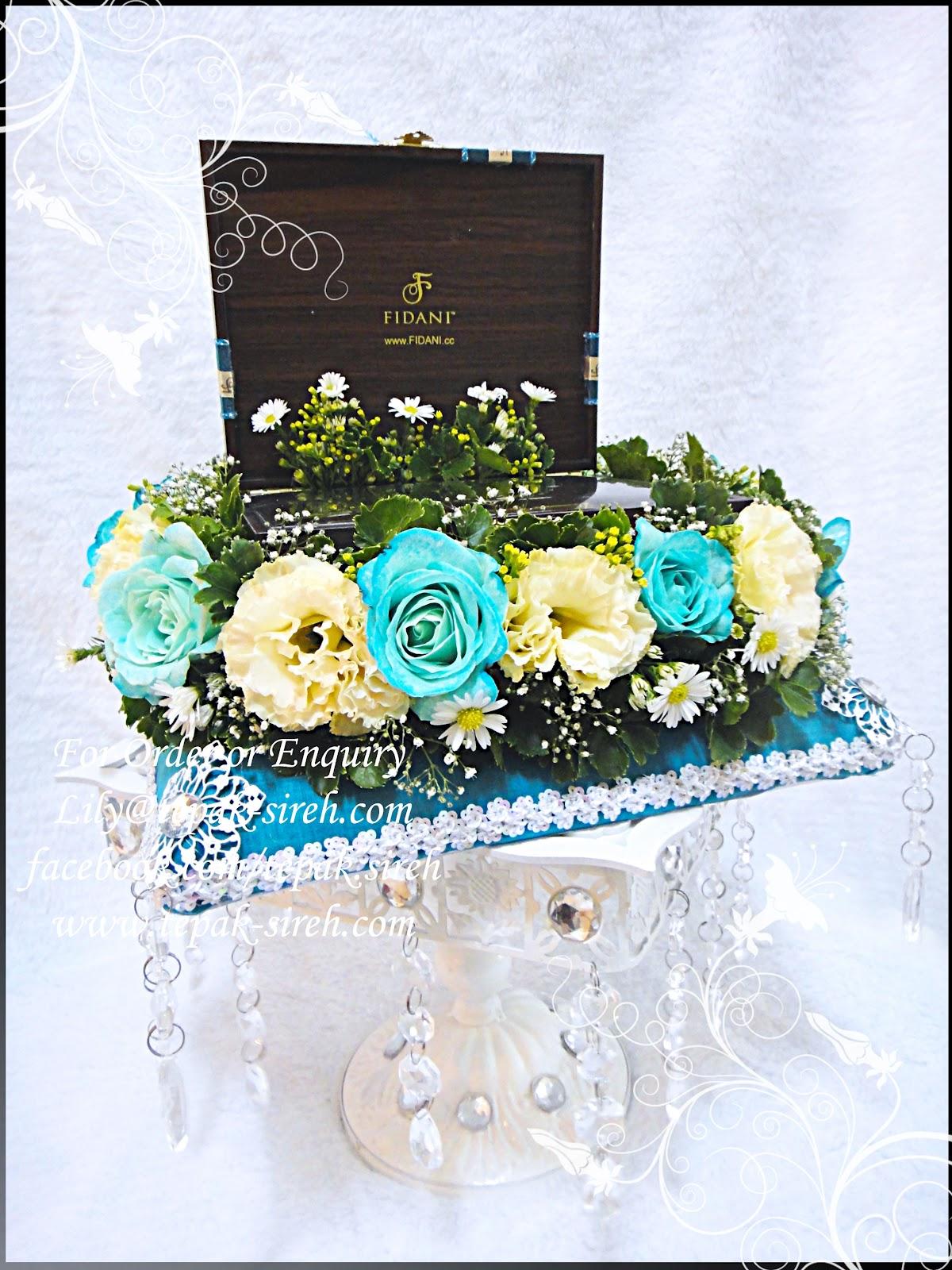 cinta gubahan hantaran gubahan tuala minflower membuat bunga stokin
