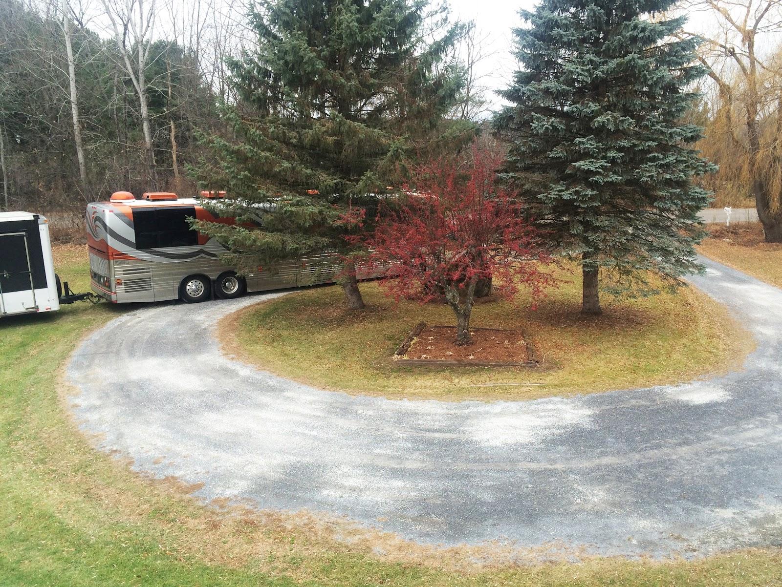 Bus in Vermont