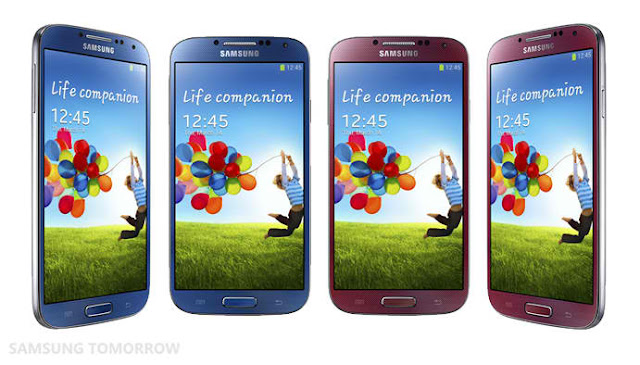 Samsung Galaxy S4 LTE-A colors