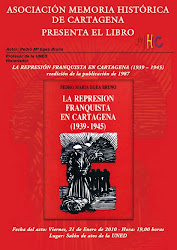 "LIBRO: ""LA REPRESIN FRANQUISTA EN CARTAGENA"""