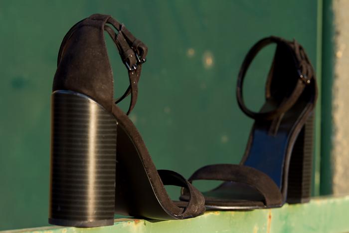 Nuevas Sandalias negras de Zara en Blog de moda de Valencia