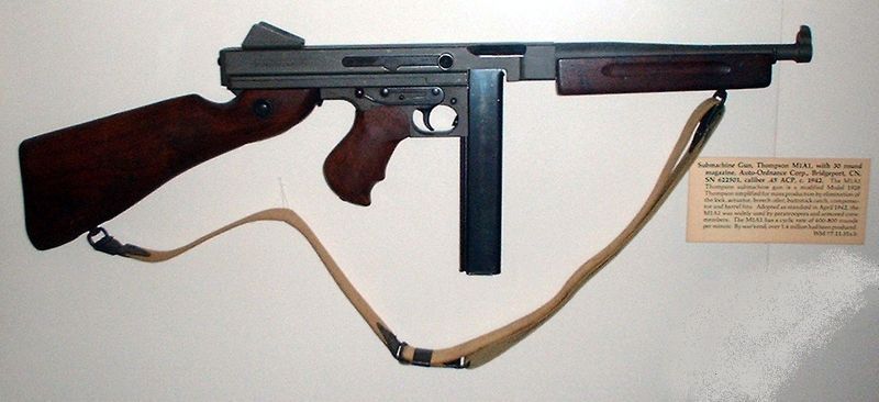 Deadly SMG Thompson submachine gun | Army and Weapons